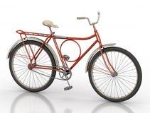 3d tła bicyklu ilustracja odpłaca się biel Zdjęcie Royalty Free