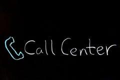 3d tła centrum telefonicznego wizerunki odizolowywali biel Obrazy Royalty Free