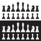 3d tła czerń szachy postacie wysoki wizerunek odpłacają się postanowienie Obraz Stock