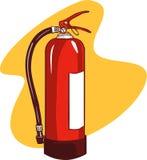 3d tła gasidła ogienia wizerunku odosobniony biel Fotografia Royalty Free