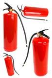 3d tła gasidła ogienia wizerunku odosobniony biel Fotografia Stock