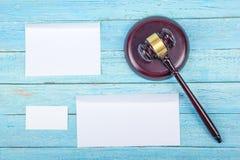 3d tła pojęcia ilustracja odizolowywał prawo odpłacającego się biel wizytówki szereg finansowe Korporacyjnego materiały ustalony  Obrazy Stock