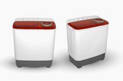 3d tła wizerunku maszyna odpłacający się płuczkowy biel Obrazy Stock