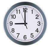 3d tła zegar odizolowywający robić ścienny biel dziewięć godzina obrazy royalty free