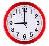 3d tła zegar odizolowywający robić ścienny biel dziewięć godzina zdjęcie royalty free