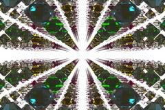 3D tło - Szklana fantazja Zdjęcia Royalty Free
