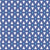 3D tło z trójbokami Obrazy Royalty Free