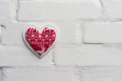 3d tła serca modela biel Obrazy Stock