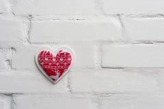 3d tła serca modela biel Obraz Stock