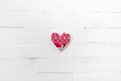 3d tła serca modela biel Zdjęcie Stock