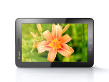 3d tablet Stock Foto's