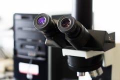 D?tail de microscope photos stock