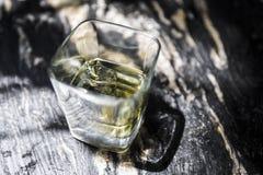 D?tail de tir de tequila images libres de droits