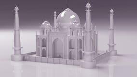 3d Taj Mahal. Taj Mahal, historic place in india Stock Photo