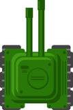 2D Tank. Illustration of 2D Tank for Game Developer Royalty Free Stock Photo