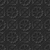 3D tapetują sztuka wzoru krzyża spirali kwiatu round kalejdoskop Obraz Royalty Free