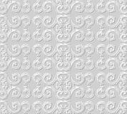 3D tapetują sztuka wzoru spirali krzywy round ramę Obraz Royalty Free