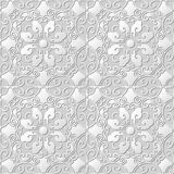 3D tapetują sztuka wzoru spirali wieloboka krzyża owalnego kwiatu Zdjęcie Royalty Free