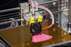 3d technologie van de printerdruk Royalty-vrije Stock Afbeelding