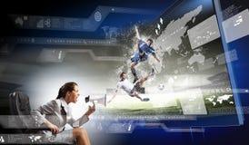 3 d-Technologien Lizenzfreie Stockbilder
