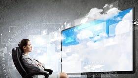 3 d-Technologien Stockfotos