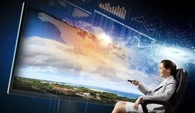 3 d-Technologien Stockfotografie