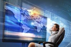 3 d-Technologien Lizenzfreies Stockfoto