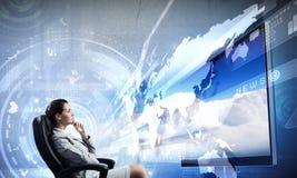 3 d technologies Stock Image