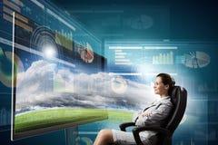 3 d technologies Stock Photo