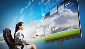 3 d technologies Stock Images