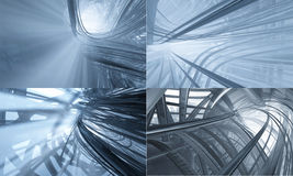 3d Technology Background Royalty Free Stock Photos