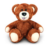 3d teddy bear Royalty Free Stock Image