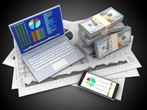 3D telefoon Stock Afbeelding