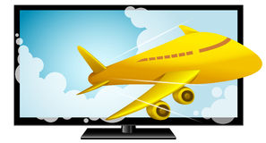 3D Televisie, HDTV, Slimme TV, Elektronika Royalty-vrije Stock Afbeelding