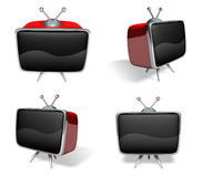 3D Television, a monitor icon. 3D Icon Design Series. Stock Photos