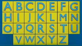 3d teruggegeven alfabetten Stock Foto