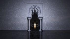 3d teruggevend beeld van moderne Islamitische stijl Royalty-vrije Stock Foto
