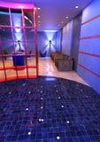 3D Teruggevende Binnenland van de Hotelontvangst Royalty-vrije Stock Foto