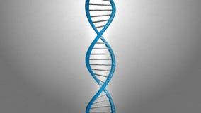 3d teruggevende blauwe DNA-structuur abstracte achtergrond Royalty-vrije Stock Foto