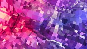 3d teruggevende lage poly abstracte geometrische achtergrond met moderne gradiëntkleuren 3d oppervlakte als beeldverhaalterrein m Stock Afbeelding