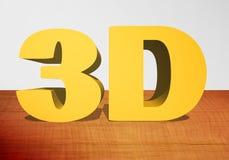 3D testo 3D royalty illustrazione gratis