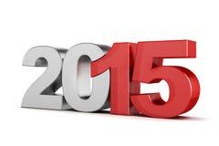 3d - Text 2015 Stockfotos