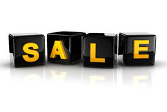 3d text sale Stock Photo