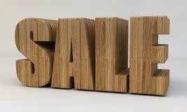 3d texto, venda 3d rendem Imagem de Stock