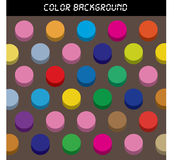 3d Texture or background with colorful Royalty Free Stock Photos