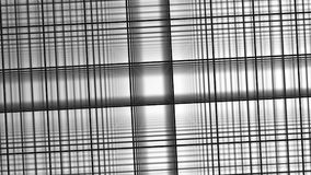 3D texture. Black and white background in a cage for banners and layouts. Volumetric background with bokeh effect. Background of intersecting gray lines. White Royalty Free Stock Photography