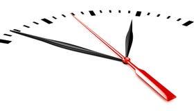 3d Timestamp Clock -  Royalty Free Stock Image