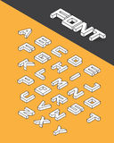 3d tipo fuente Imagen de archivo libre de regalías