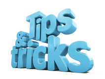 3d tips and tricks Royalty Free Stock Image