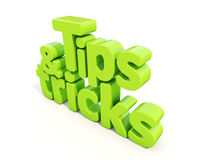 3d tips and tricks Stock Image